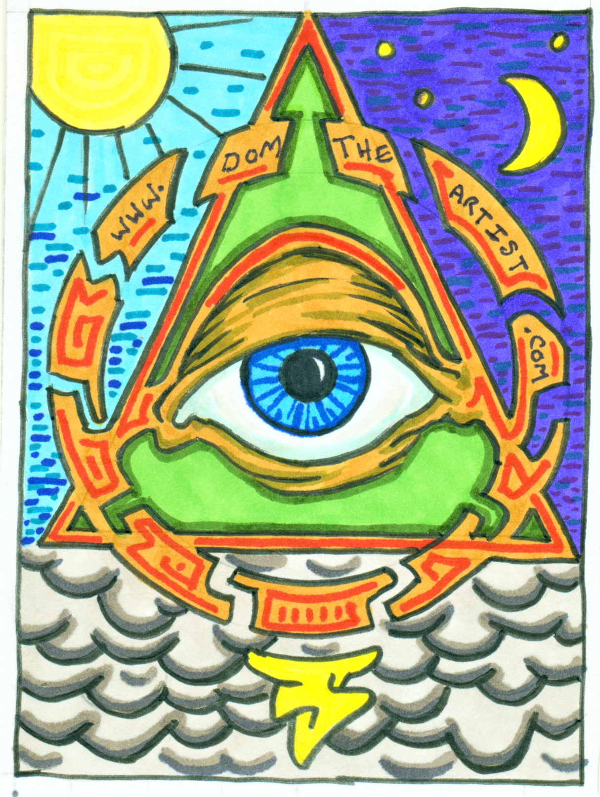 eye-triangle-postcard